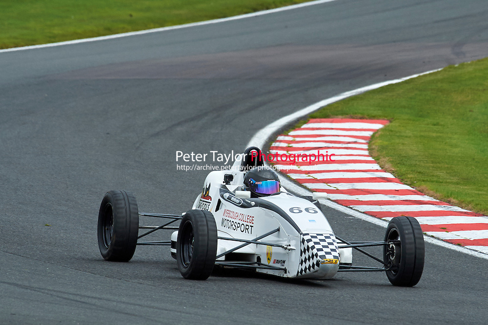 #66 Jack Wolfenden Van Diemen JL013K during Avon Tyres Formula Ford 1600 Northern Championship - Prost 89 Race 1 as part of the BRSCC Fun Cup Oulton Park 17th October 2015 at Oulton Park, Little Budworth, Cheshire, United Kingdom. October 17 2015. World Copyright Taylor/PSP. Copy of publication required for printed pictures.  Every used picture is fee-liable. http://archive.petertaylor-photographic.co.uk