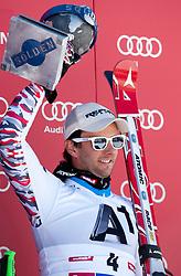 23.10.2011, Rettenbachferner, Soelden, AUT, FIS World Cup Ski Alpin, Herren, Riesenslalom, im Bild Podium Philipp Schoerghofer (AUT) Platz 3// during Mens ginat Slalom at FIS Worldcup Ski Alpin at the Rettenbachferner in Solden on 23/10/2011. EXPA Pictures © 2011, PhotoCredit: EXPA/ Johann Groder