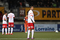 Youssouf HADJI  - 06.03.2015 - Nancy / Laval - 27eme journee de Ligue 2 <br />