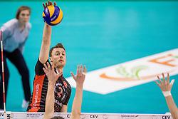 15-02-2017 NED: Draisma Dynamo - Ziraat Bankasi Ankara, Apeldoorn <br /> CEV Volleyball Challenge Cup 2017 / Jeroen Rauwerdink #2
