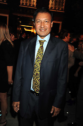 DR ALI at a party to celebrate the opening of the new home of Alfred Dunhill at Bourdon House, 2 Davies Street, London on 16th September 2008.