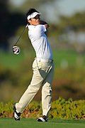 Ryuji Imada tees off on the fifth hole on the North Course during the pro-am prior to the Farmers Insurance Open at Torrey Pines on Jan. 25, 2012 in San Diego, California...©2012 Scott A. Miller