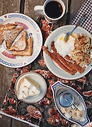 Breakfast at Mary Lee's Cafe located in Joplin, Missouri. Photo by Brandon Alms Photography