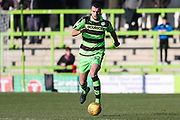 Forest Green Rovers Haydn Hollis(32) runs forward during the EFL Sky Bet League 2 match between Forest Green Rovers and Crawley Town at the New Lawn, Forest Green, United Kingdom on 24 February 2018. Picture by Shane Healey.
