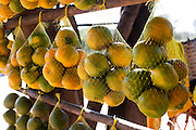 Divinopolis_MG, Brasil...Comercio informal de frutas na rodovia MG-50 em Divinopolis...The informal trade of fruits on MG-50 highway in Divinopolis...Foto: LEO DRUMOND / NITRO