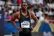 Ronnie Baker (USA) competes in 100m Men during the Meeting de Paris 2018, Diamond League, at Charlety Stadium, in Paris, France, on June 30, 2018 - Photo Julien Crosnier / KMSP / ProSportsImages / DPPI