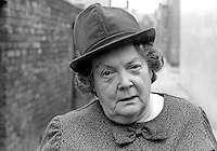 Maureen Smyth, candidate, West Belfast, Alliance Party of N Ireland, N Ireland Assembly Election, June 1973. 197306000315b<br /> <br /> Copyright Image from Victor Patterson, 54 Dorchester Park, Belfast, UK, BT9 6RJ<br /> <br /> t1: +44 28 9066 1296 (from Rep of Ireland 048 9066 1296)<br /> t2: +44 28 9002 2446 (from Rep of Ireland 048 9002 2446)<br /> m: +44 7802 353836<br /> <br /> e1: victorpatterson@me.com<br /> e2: victorpatterson@gmail.com<br /> <br /> The use of my copyright images is subject to my Terms & Conditions.<br /> <br /> It is IMPORTANT that you familiarise yourself with them. They are available on my website at www.victorpatterson.com.<br /> <br /> None of my copyright images may be used on a website unless they are visibly watermarked, i.e. © Victor Patterson within the body of the visible image. Metadata denoting my copyright must NOT be deleted. <br /> <br /> Web use (maximum size - 400 kb) is extra at currently recommended NUJ rates.