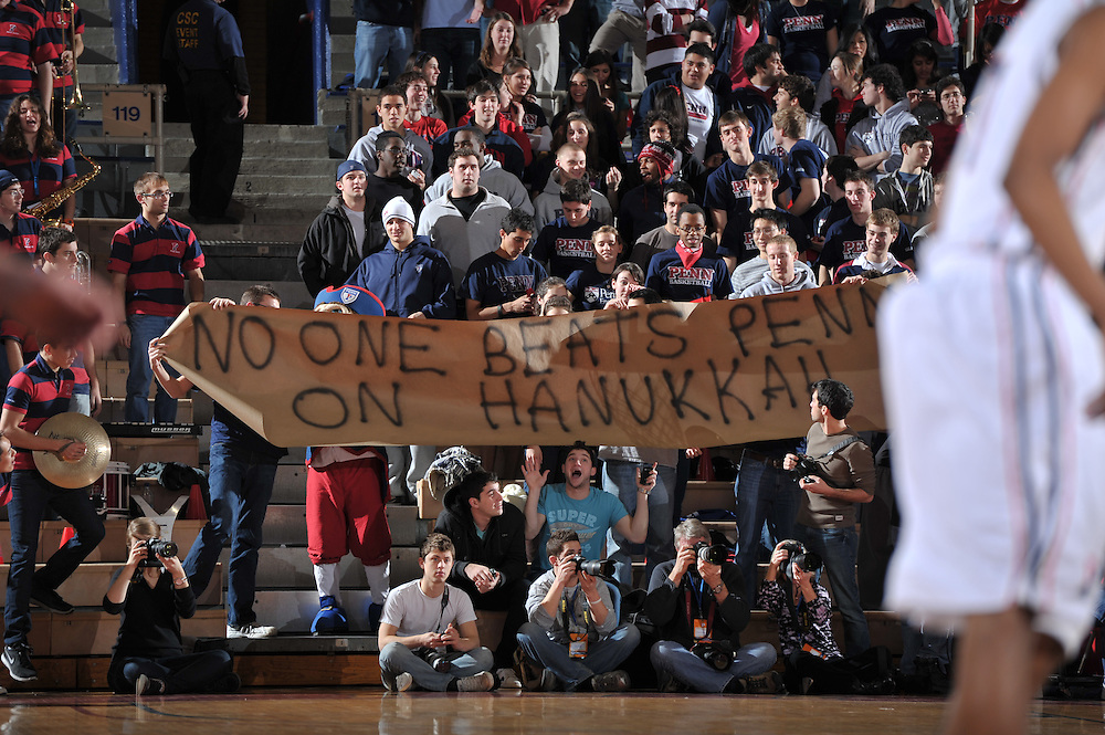 PHILADELPHIA - DECEMBER 08:  Villanova defeated penn 65-53 at the Palestra on December 8, 2010 in Philadelphia, Pennsylvania. (Photo by Drew Hallowell)