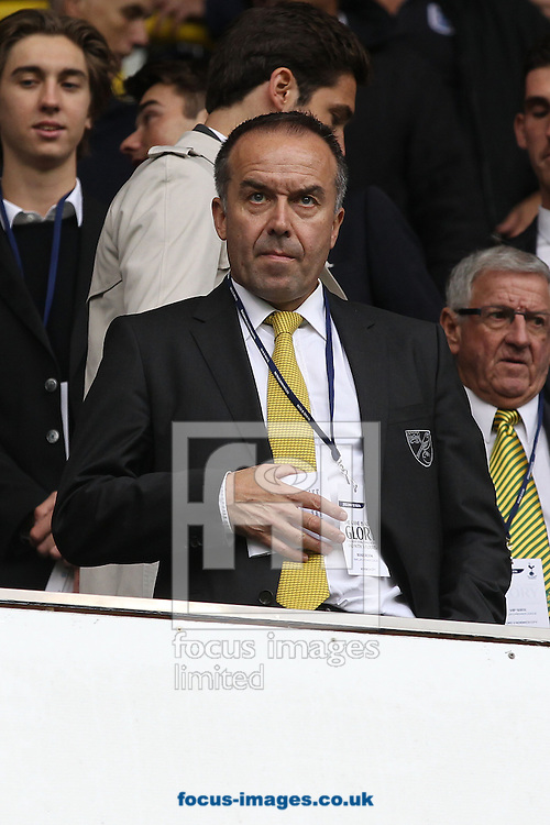 Picture by Paul Chesterton/Focus Images Ltd +44 7904 640267<br /> 14/09/2013<br /> Chief Executive David McNally before the Barclays Premier League match at White Hart Lane, London.