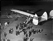 1958 - Inaugural Aerlinte flight to the United States from Dublin Airport