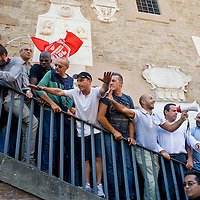 Manifestazione per la casa in Campidoglio