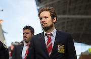 Daley Blind of Manchester United before the Barclays Premier League match between Crystal Palace and Manchester United at Selhurst Park, London, England on 31 October 2015. Photo by Phil Duncan.
