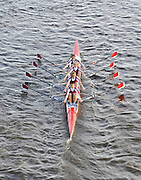 London, Great Britain,  Marlow BC, Women's vet C4-Start at  the 2009 Veterens Fours of the River Race, raced over the Championship Course, Mortlake to Putney, on the River Thames.   Sunday, 15/11/2008. [Mandatory Credit: Karon Phillips/Intersport Images]