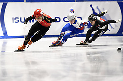 February 9, 2019 - Torino, Italia - Foto LaPresse/Nicolò Campo .9/02/2019 Torino (Italia) .Sport.ISU World Cup Short Track Torino - Men 500 meters Final B .Nella foto: Ziwei Ren..Photo LaPresse/Nicolò Campo .February 9, 2019 Turin (Italy) .Sport.ISU World Cup Short Track Turin - Men 500 meters Final B.In the picture: Ziwei Ren (Credit Image: © Nicolò Campo/Lapresse via ZUMA Press)