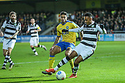 Forest Green Rovers Keanu Marsh-Brown(7) on the ball during the Vanarama National League match between Torquay United and Forest Green Rovers at Plainmoor, Torquay, England on 26 December 2016. Photo by Shane Healey.