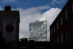 UK ENGLAND LONDON 22MAR14 - Broadgate Tower looms over Whitechapel, London's east end.<br /> <br /> jre/Photo by Jiri Rezac<br /> <br /> &copy; Jiri Rezac 2014