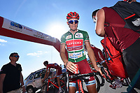 Arrival KRISTOFF Alexander (NOR) Green Points Jersey during the 7th Tour of Oman 2016 Cycling Tour, Stage 4, Knowledge Oasis Muscat - Jabal Al Akhdhar (Green Mountain) 1435m (177Km) on February 19, 2016 in Oman - Photo Tim De Waele / DPPI