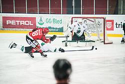 TOMAZEVIC Blaz during Alps League Ice Hockey match between HK SZ Olimpija and HDD SIJ Jesenice, on February 12, 2019 in Ice Arena Podmezakla, Jesenice, Slovenia. Photo by Peter Podobnik / Sportida