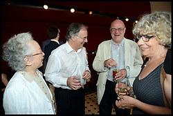 L to R  Countess Ceschina,  Sir Clive Gillinson, Sir Nicholas kenyon, Director of the Barbican,  attend the National Youth Orchestra of The United States of America Reception at the <br /> The Royal Albert Hall hosted be Ronald O.Perelman, London, United Kingdom,<br /> Sunday, 21st July 2013<br /> Picture by Andrew Parsons / i-Images