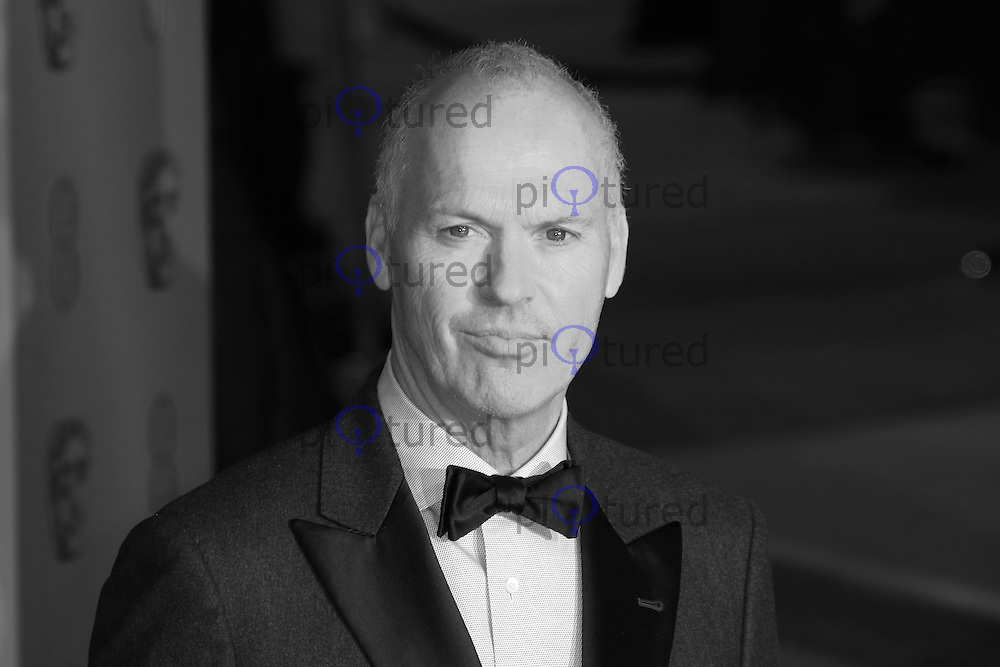 Michael Keaton, EE British Academy Film Awards (BAFTAs), Royal Opera House Covent Garden, London UK, 08 February 2015, Photo by Richard Goldschmidt