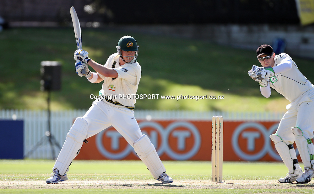 Australia's Marcus North batting.<br />