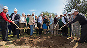 Sharpstown High School groundbreaking ceremony, February 7, 2015.