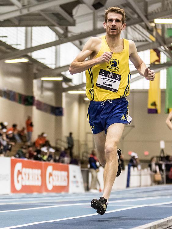 USATF Indoor Track & Field Championships: masters mens 1500, Chris Magill, BAA