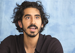 November 12, 2016 - Hollywood, California, U.S. - DEV PATEL promotes the movie 'Lion.' Dev Patel (born April 23 1990) is a British actor. Dev was born in Harrow, London, to Anita, a caregiver, and Raj Patel, who works in IT. His parents, originally from Nairobi, Kenya, are both of Gujarati Indian descent. His first role was in the UK TV series Skins (2007). His breakout role was in the Oscar winning film Slumdog Millionaire (2008). In March 2015, he had a leading role in two major motion pictures released in the theaters at the same time: Chappie (2015) and The Second Best Exotic Marigold Hotel (2015). Upcoming: Hotel Mumbai (2017), Lion (2016). (Credit Image: © Armando Gallo/Arga Images via ZUMA Studio)
