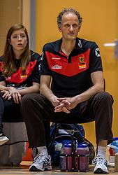04-06-2016 NED: Nederland - Duitsland, Doetinchem<br /> Nederland speelt de tweede oefenwedstrijd in Doetinchem / Redbad Strikwerda in dienst van Duitsland