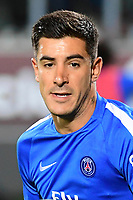 Yuri Berchiche of PSG warms up before the Ligue 1 match between Metz and Paris Saint Germain on September 8, 2017 in Metz, France. (Photo by Dave Winter/Icon Sport)