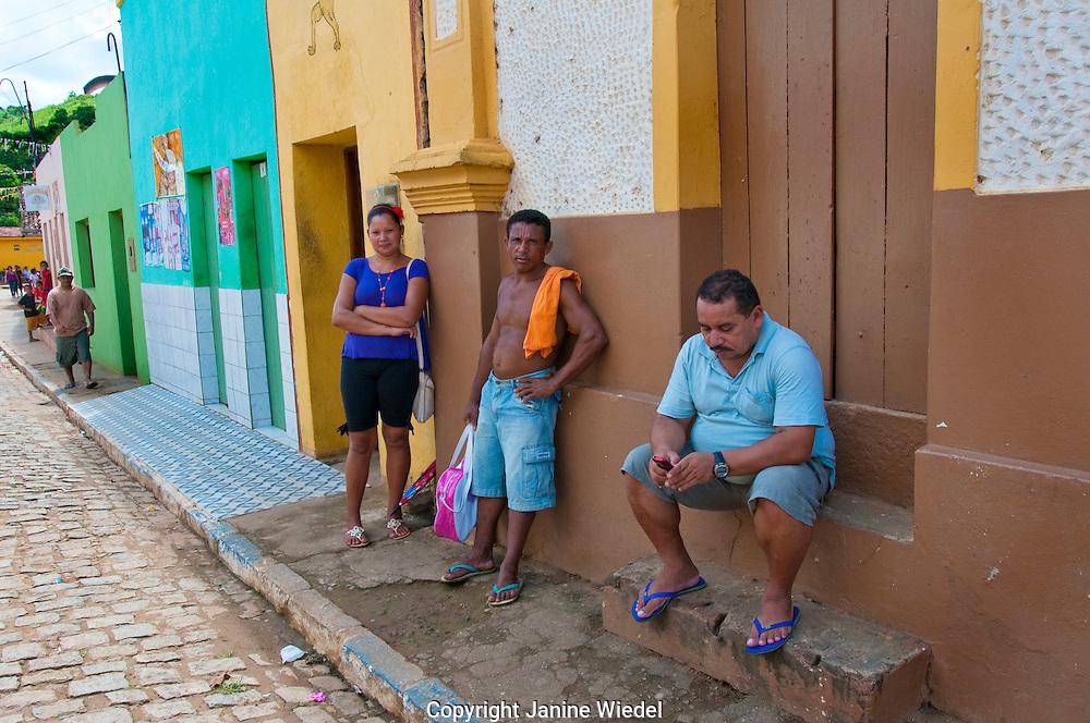 Village of Sao Benedito Do Sul in Pernambuco Northeastern Brazil