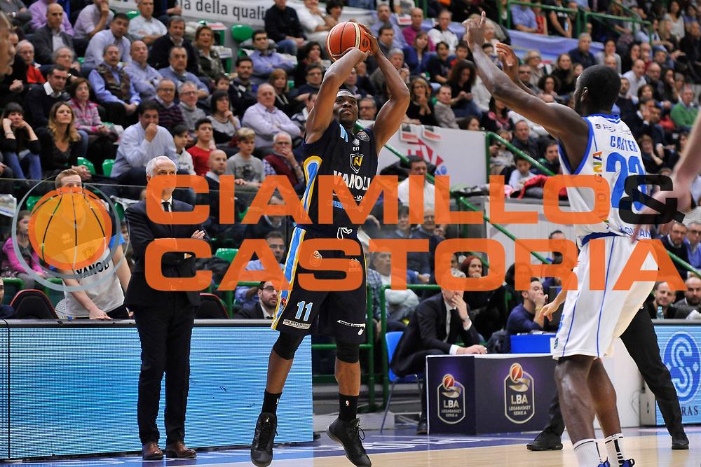 Paul Harris<br /> Banco di Sardegna Dinamo Sassari - Vanoli Cremona<br /> LegaBasket Serie A LBA Poste Mobile 2016/2017<br /> Sassari 26/11/2016<br /> Foto Ciamillo-Castoria