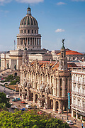 The Capitolio Nacional was built on the back of the rich sugar trade between the US and Cuba. Built in 1926 it cost $17million USD and even has a 24 carat diamond embeded in the floor directly below the dome.