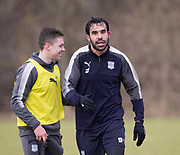 Dundee&rsquo;s Sofien Moussa during Dundee FC training at the Michelin Grounds, Dundee<br /> <br /> <br />  - &copy; David Young - www.davidyoungphoto.co.uk - email: davidyoungphoto@gmail.com