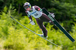 Domen Prevc of Slovenia during Ski Jumping Continental Cup 2018, on July 8, 2018 in Kranj, Slovenia. Photo by Urban Urbanc / Sportida
