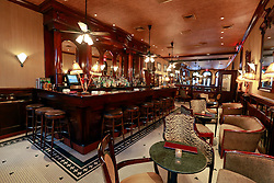 03 Sept 2014. New Orleans, Louisiana. <br /> Arnaud's French 75 Bar in the French Quarter.<br /> Photo; Charlie Varley/varleypix.com