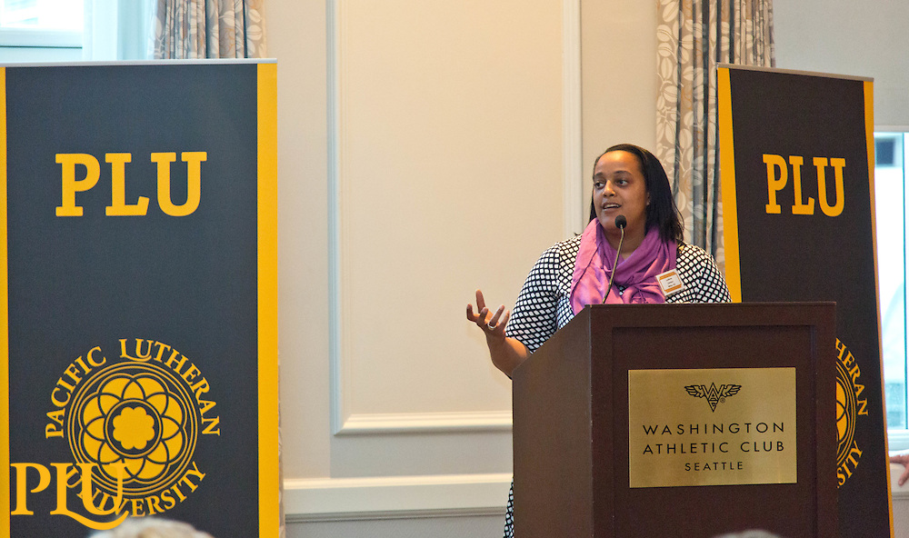 PLU Connections evnt at the Washington Athletic Club in Seattle on Sunday, March 1, 2015. (Photo/John Froschauer)