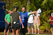 Jaye Marie Green celebrates after winning the LPGA Q-School Stage 3 on the Hills Course at LPGA International in Daytona Beach, Florida on Dec. 4, 2016.<br /> <br /> <br /> ©2016 Scott A. Miller
