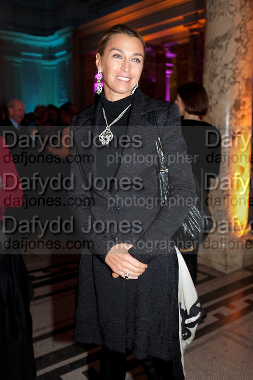 ASSIA WEBSTER, Cecil Beaton private view. V and A Museum. London. 6 February 2012