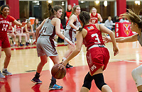 St Paul's School girls varsity Basketball.  ©2020 Karen Bobotas Photographer