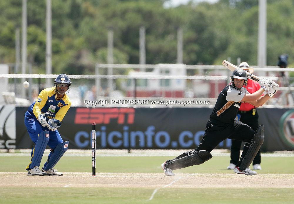 Taylor. New Zealand Black Caps v Sri Lanka, international exhibition Twenty 20 cricket match, Central Broward Regional Park, Florida, United States of America. 23 May 2010. Photo: Barry Bland/PHOTOSPORT