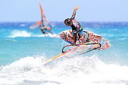 26.07.2015, Costa Calma, Fuerteventura, ESP, PWA Windsurfing Freestyle Grand Slam, im Bild <br />Ruenes Antony F-85 // during the PWA Windsurfing Freestyle Grand Slam at the Costa Calma in Fuerteventura, Spain on 2015/07/26. EXPA Pictures © 2015, PhotoCredit: EXPA/ Eibner-Pressefoto/ Roskaritz<br /> <br /> *****ATTENTION - OUT of GER*****
