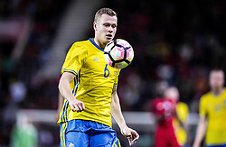 March 28, 2017 - Funchal, Madeira, Portugal - 6. Viktor Claesson made two goals,..Sweden defeated Portugal 3-2 in a friendly game at Estadio do Maritimo, Madeira, Portugal 2017-03-28..(c) ERICSSON MARCUS  / Aftonbladet / IBL BildbyrÃ¥....* * * EXPRESSEN OUT * * *....AFTONBLADET / 85729 (Credit Image: © Aftonbladet/IBL via ZUMA Wire)