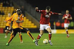 Marlon Pack of Bristol City - Mandatory byline: Dougie Allward/JMP - 08/03/2016 - FOOTBALL - Molineux Stadium - Wolverhampton, England - Wolves v Bristol City - Sky Bet Championship