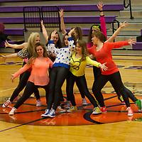 2-8-14 Halftime Dancers (1st) BHS vs Farmington