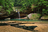 Old Man's Cave Lower Falls, Hocking Hills State Park Ohio