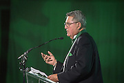 Criss Somerlet was inducted into the Kermit Blosser Ohio Athletics Hall of Fame during the 2016 Alumni Awards Gala at Ohio University's Baker Center Ballroom on Friday, October 07, 2016.