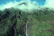 Mt, Waialeale (wettest spot on earth) Kauai, Hawaii<br />