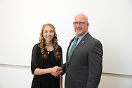 Anna Blasdell, 4H RoundUp 2015. New members of the State 4-H Key Club