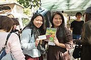 Slow Food Japan with Wild Garden Seed packets and catalog